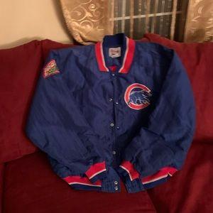 Vintage cubs bomber jacket